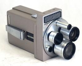 ARGUS M3 Cinetronic Vintage Film Movie Camera TURRET lens USA - $76.50