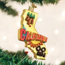 OLD WORLD CHRISTMAS STATE OF CALIFORNIA GLASS CHRISTMAS ORNAMENT 36188 - $16.88