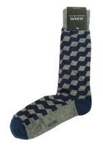 New Mens Alfani Seamless Geo Purple Crew Dress Socks 10-13 - $3.46
