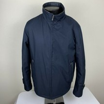Rainforest Jacket Membrane System Thermore Men's Large Navy Blue Coat Fu... - $79.99