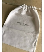 """BRAND NEW MICHAEL KORS COLLECTION Dust Bag Cover Shoes 15.5"""" x 11"""" White - $15.00"""