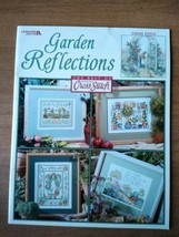 Cross Stitch Pattern Book GARDEN REFLECTIONS  - No 3701 - $5.00