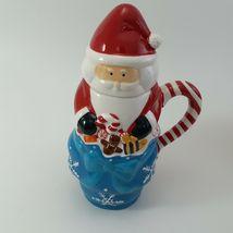 Temptations 24 oz Santa Mugs W/ Lids Set of 4 image 7