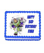 Buzz Lightyear Toy Story edible cake image frosting sheet party decoration - $8.98+