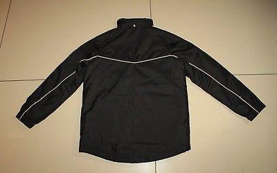 977e61f49a07 Black Polyester PUMA Zip Sport Wear Hip Length Casual Coat Jacket Size 26    28