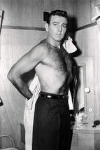 Mike Connors bare chested beefcake pose 18x24 Poster - $23.99
