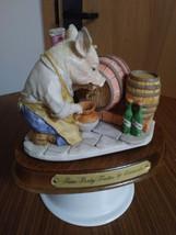 "1989 Heritage Mint Little Nook Village Peter ""Porky"" Trotter Leonardo Figurine image 1"