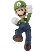S.H. Figuarts Super Mario Luigi about 110mm ABS & PVC painted action figure - $55.38