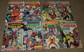 1 set 8 Marvel Comic Amazing Spider-man 150 155 157 161 165 169 208 Annu... - $7.99
