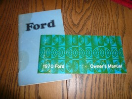 1970 1974 Ford Owner's Manuals - Glove Box - Lot of Two Books - $9.74