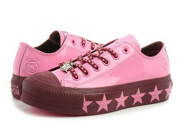 Women's Converse Miley Cyrus Chuck Taylor AS Lift Low, 563718C Mult Sizes Pink/B - $89.95