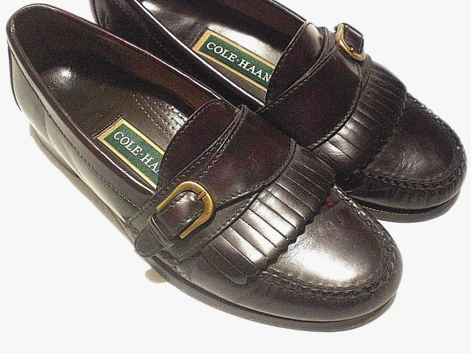 805d26e4f8e Cole Haan Kiltie Monk Strap Loafers Mens Sz and 50 similar items. 57