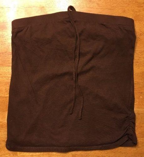 Xhilaration Girl's Brown Halter Top Shirt / Blouse Size: Large 10/12