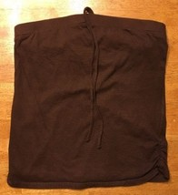 Xhilaration Girl's Brown Halter Top Shirt / Blouse Size: Large 10/12 - $9.90