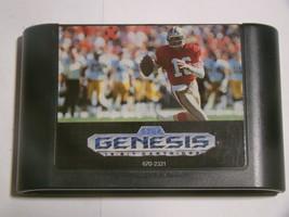 Sega Genesis - NFL SPORTS TALK FOOTBALL '93 Starring JOE MONTANA (Game O... - $15.00