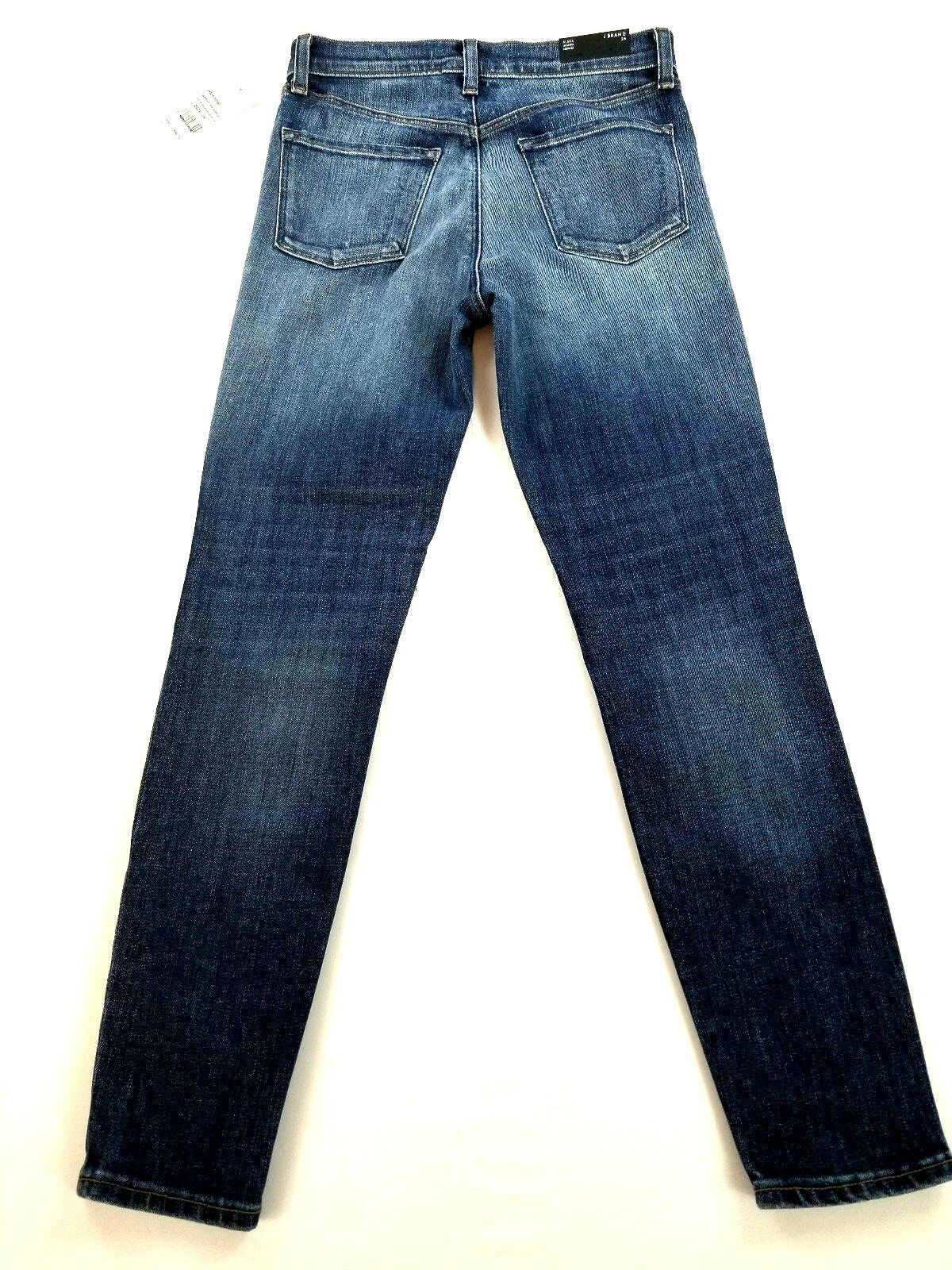 new J BRAND women jeans Jasper Patched JB001098 high rise crop 26 blue MSRP $298 image 6