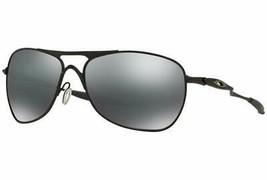 Neu Oakley Sunglasscrosshair OO4060-03 Matt Schwarz mit / Schwarz Iridium - $215.54