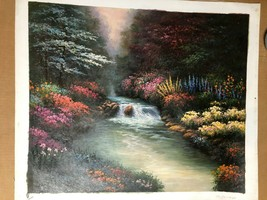 Kinkaid River Brook 20 x 24  Quality Oil Painting Art Gallery Closed - $24.75+