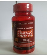 Holland & Barrett Enteric Coated Omega 3 Fish Oil 60 Capsules 500mg - $16.37
