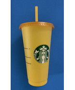 Starbucks Single Color Changing Cold Cup Summer 2020 - Marigold - $11.88