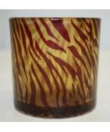 EsScential Ideas Tiger Stripe Votive Candle Holder - $29.69