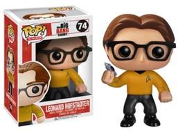 FUNKO POP Big Bang THEORY LEONARD Star Trek #74 VINYL FIGURE NEW IN BOX - $214.12