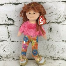 Ty Beanie Boppers Snazzy Sabrina Plush Soft Doll Redhead Stuffed Toy With Tag - $14.84
