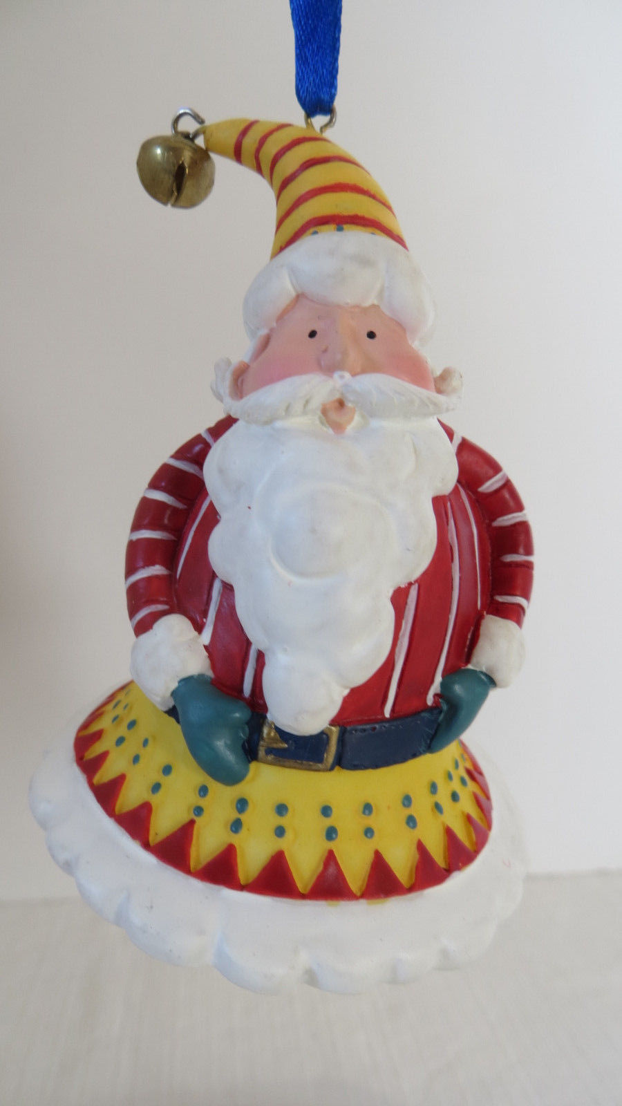 Christmas Avon 1998 Santa Tune Bell Ornament