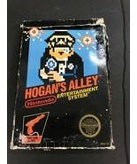 Hogan's Alley  NES Nintendo ORIGINAL BOX ONLY AUTHENTIC - $19.75
