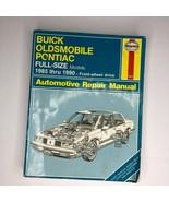Haynes Buick Oldsmobile Pontiac Automotive Repair Manual #1627 1985 thru 1990 - $11.88