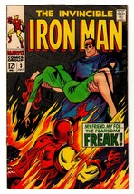 The Invincible Iron Man #3 Vol. 1 1968 Silver Age Marvel Comics - $56.06