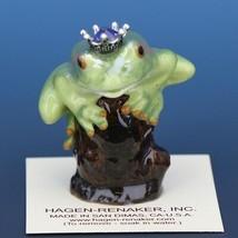 Birthstone Tree Frog Prince June Elexandrite Miniatures by Hagen-Renaker image 1