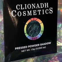 NWT NIB Clionadh Cosmetics JEWELLED MULTICHROME SINGLE PAN *ONE SHADE* CASTLE image 6
