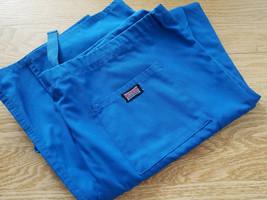 Cherokee Workwear Mens Blue Drawstring Scrub Pant L 40x32 NWOT - $14.00