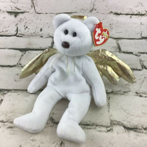 Primary image for Ty Beanie Babies Halo II Plush Angel Teddy Bear Stuffed Animal Toy 2000 W/Tag