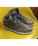 Jordan Retro 1 Mid Cool Grey White 554724-031 High OG Shadow Sz 13 Pre O... - $78.20