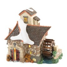 Department 56 Light Up Brandon Mill Village Series Mill with Moving Mill Wheel