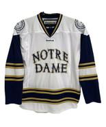 Reebok Notre Dame Fighting Irish Hockey Jersey Adult Size S - $98.90