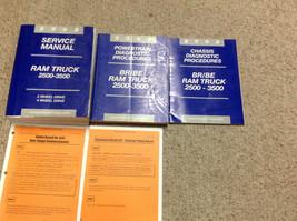 2002 Dodge Ram Truck DIESEL 2500 3500 Service Shop Repair Manual Set FACTORY - $296.99