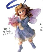"""Boyds Wee Folkstone Faerie """"Flurry Frost..Winter Dusting"""" Ornament-#2581... - $24.99"""