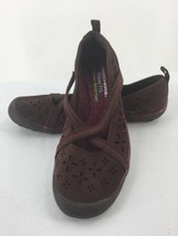 Skechers Womens 8M Shoes Wedge Wine Color Memory Foam - $14.95