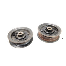 "Used Craftsman 131494 165888 Set of Deck Belt Idlers Pulleys fits EZ3 w 42"" Deck - $15.00"