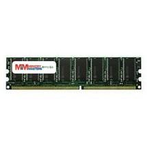 MemoryMasters 1GB DDR 400 PC3200 Dual Rank Unbuffered ECC 2Rx8 UDIMM 64x8 18chip