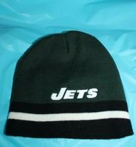 New York Jets Genuine NFL Reebok Winter Knit Hat Acrylic Size 8-20 Youth... - $15.83