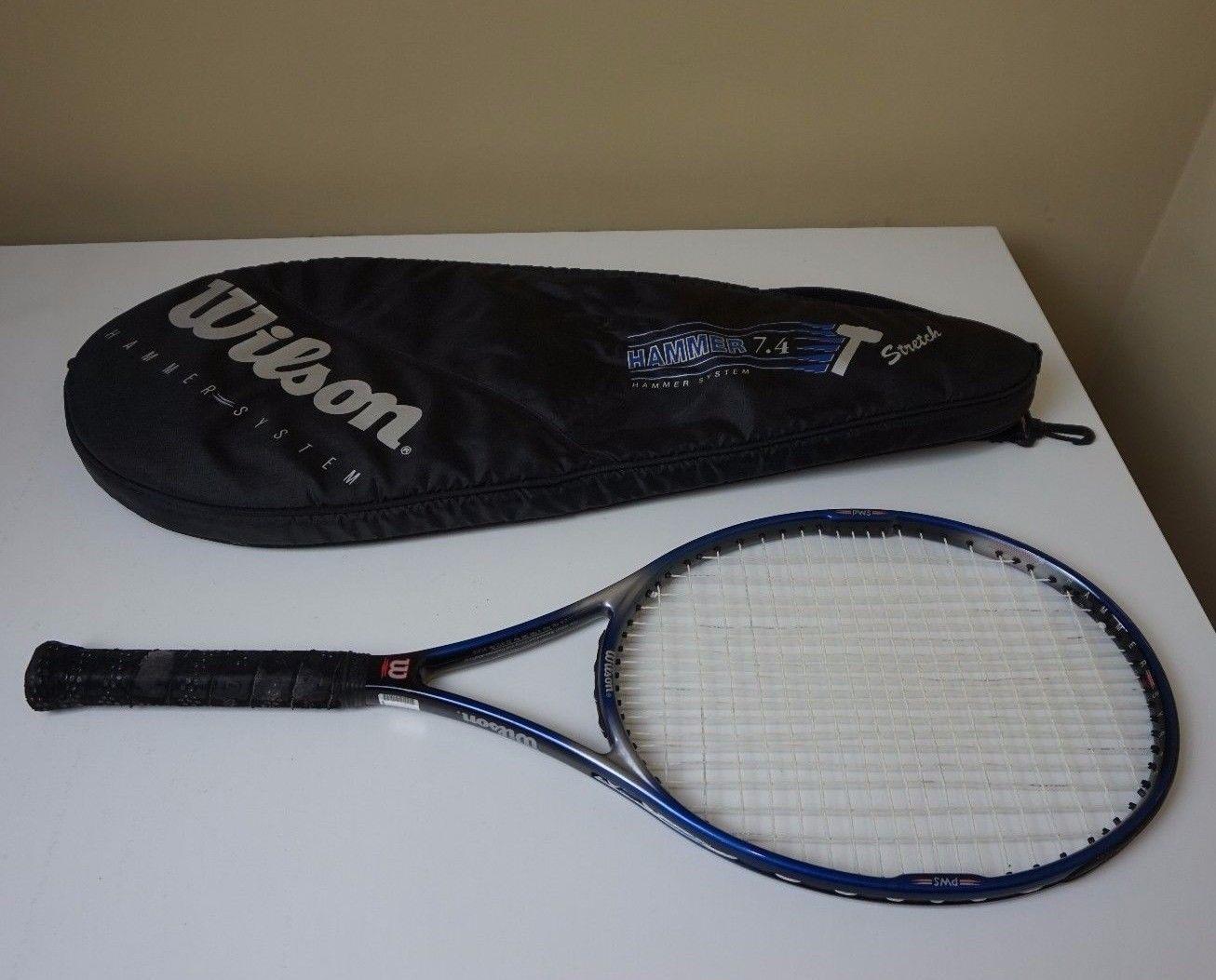 Wilson Hammer 5.0 Stretch Oversize 110 4 3//8 grip Tennis Racquet