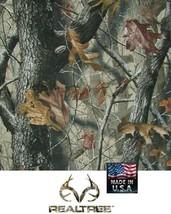 USA MADE REALTREE HARDWOODS HD Camouflage CAMO Bandana Face Mask Head Wr... - $13.99