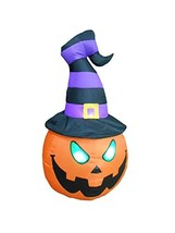 BZB Goods 6 Foot Tall Illuminated Halloween Inflatable Lantern with Grim... - $45.74