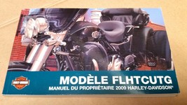 2009 Harley Davidson FLHTCUTG Tri Glide Ultra FRENCH Owner's Manual 83390-09FR - $29.86