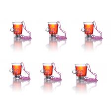 Hott Products Bachelorette Party Light Up Boobie Shot Glass 6 Pieces  - $23.74