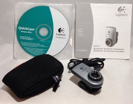 Logitech QuickCam with CD Cllip-On USB and Case V 10.5.1 - $14.01